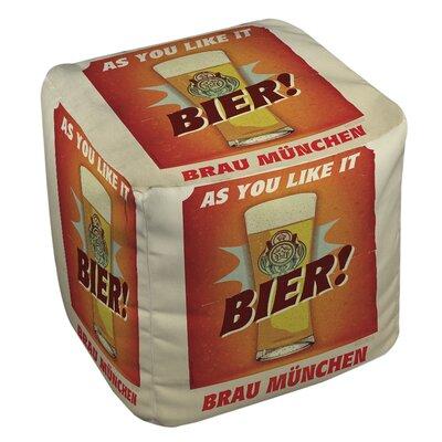Bier Brau Munchen Pouf