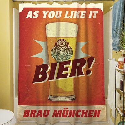 Bier Brau Munchen Shower Curtain