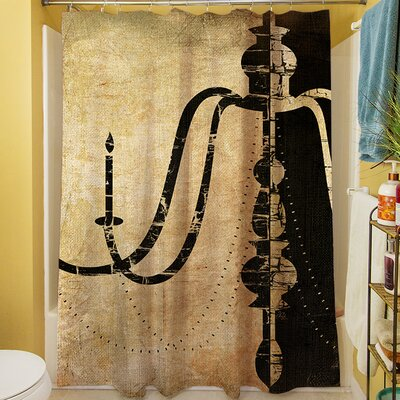 Chandelier II Shower Curtain