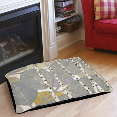 Birch Leaf 1 Indoor/Outdoor Pet Bed Size: 28 L x 18 W