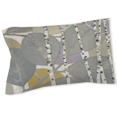 Birch Leaf 1 Sham Size: Queen/King