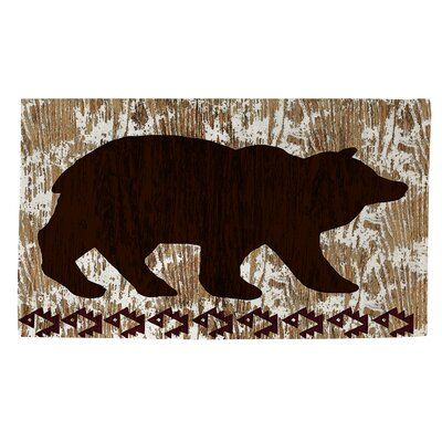 Wilderness Bear Area Rug Rug Size: 4 x 6