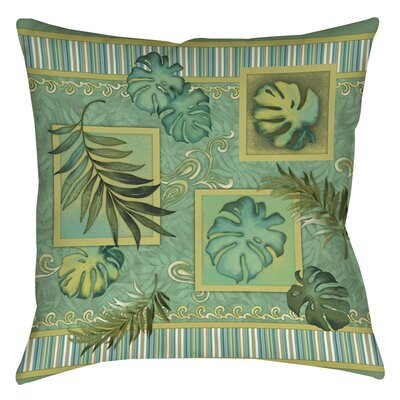Tropic of Cancer Printed Throw Pillow Size: 16 H x 16 W x 4 D