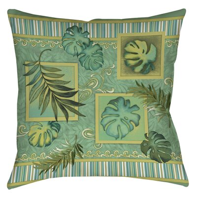 Tropic of Cancer Indoor/Outdoor Throw Pillow Size: 16 H x 16 W x 4 D