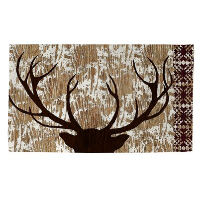 Wilderness Deer Area Rug Rug Size: 4 x 6