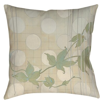 Summer Vine 2 Indoor/Outdoor Throw Pillow Size: 16 H x 16 W x 4 D