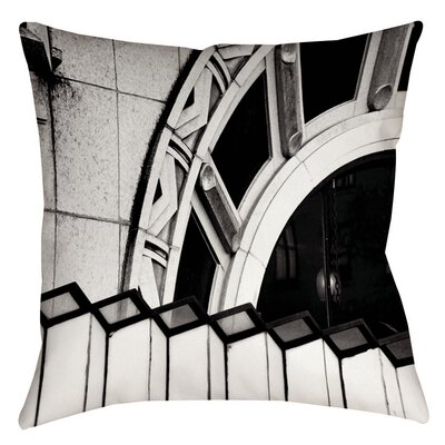Urban Detail Arch Indoor/Outdoor Throw Pillow Size: 20 H x 20 W x 5 D