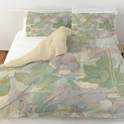 Summer Vine 1 Duvet Cover Size: Queen
