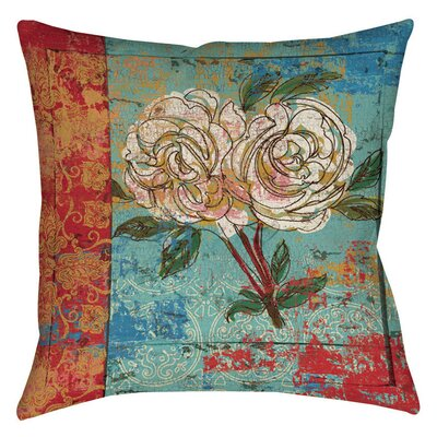 Valencia 1 Indoor/Outdoor Throw Pillow Size: 20 H x 20 W x 5 D