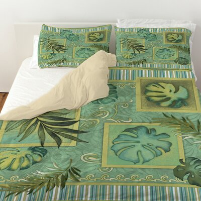 Tropic of Cancer Duvet Cover Size: King
