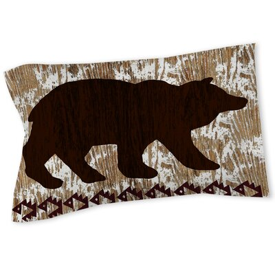 Wilderness Bear Sham Size: Queen/King