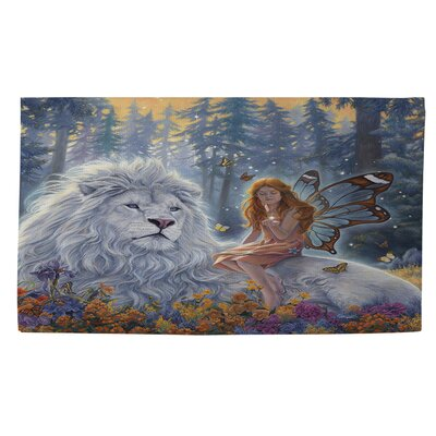 Star Birth Area Rug Rug Size: 2 x 3