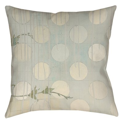 Summer Vine 3 Printed Throw Pillow Size: 14 H x 14 W x 3 D