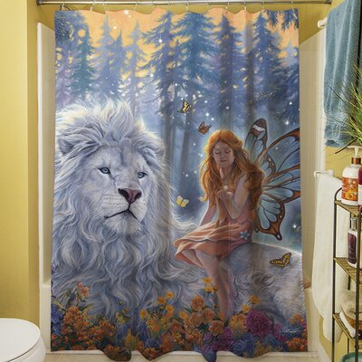 Star Birth Shower Curtain