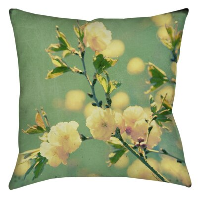 Vintage Botanicals 4 Printed Throw Pillow Size: 26