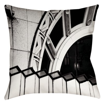 Urban Detail Arch Printed Throw Pillow Size: 16 H x 16 W x 4 D
