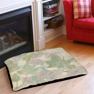 Summer Vine 1 Indoor/Outdoor Pet Bed Size: 40 L x 30 W