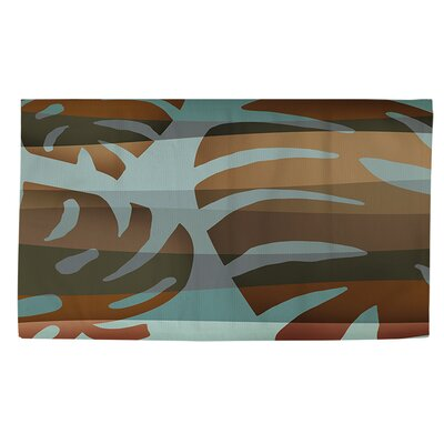 Tropical Leaf 4 Area Rug Rug Size: 2 x 3