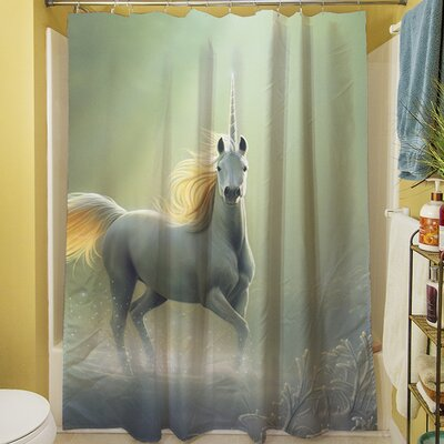 Touch by the Aurora Shower Curtain
