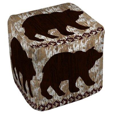 Wilderness Bear Ottoman