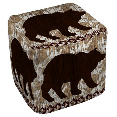 Wilderness Bear Pouf