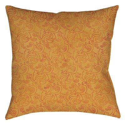 Zinnia Damask Indoor/Outdoor Throw Pillow Size: 18 H x 18 W x 5 D
