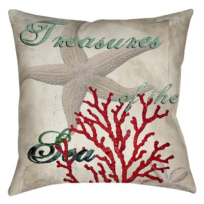 Concetta Indoor/Outdoor Throw Pillow Size: 16 H x 16 W x 4 D