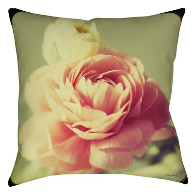 Vintage Botanicals 3 Printed Throw Pillow Size: 14 H x 14 W x 3 D