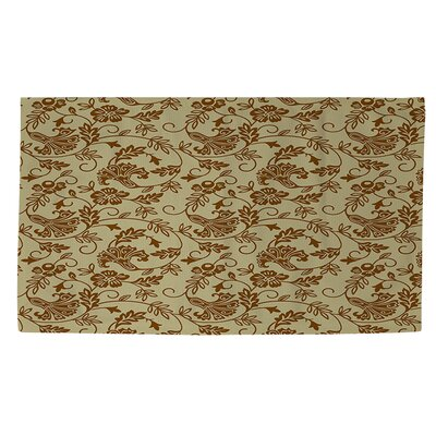 Sultry Blues Taupe Area Rug Rug Size: 2 x 3