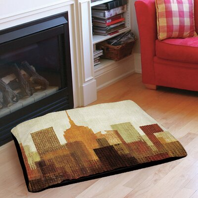Summer in the City II Indoor/Outdoor Pet Bed Size: 28 L x 18 W