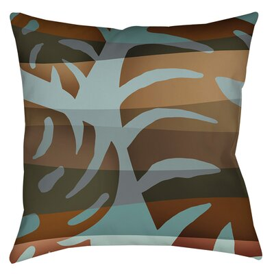 Tropical Leaf 4 Printed Throw Pillow Size: 14 H x 14 W x 3 D