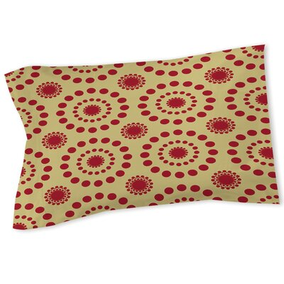 Tropical Breeze Patterns Sham Size: Twin, Color: Red