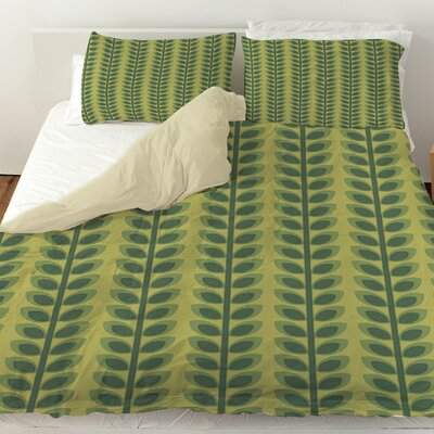 Tropical Breeze Patterns 39 Duvet Cover Size: Twin