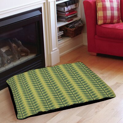 Tropical Breeze Patterns 39 Indoor/Outdoor Pet Bed Size: 28 L x 18 W