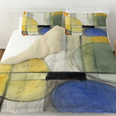 Very Retro Duvet Cover Size: Twin