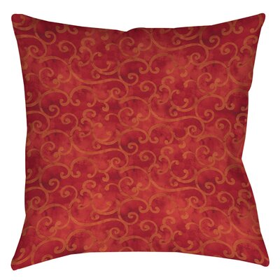 Zinnia Damask Printed Throw Pillow Size: 26 H x 26 W x 7 D