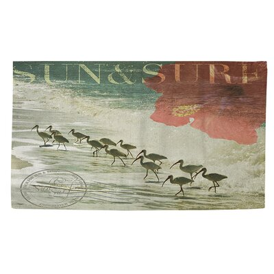Sun and Surf Area Rug Rug Size: 4' x 6'