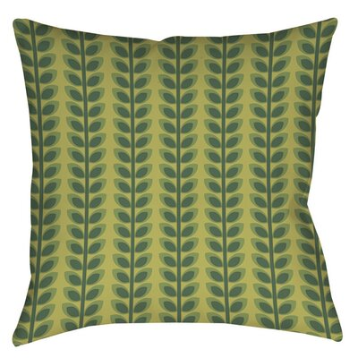 Tropical Breeze Patterns 39 Indoor/Outdoor Throw Pillow Size: 16 H x 16 W x 4 D
