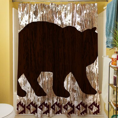 Wilderness Bear Shower Curtain