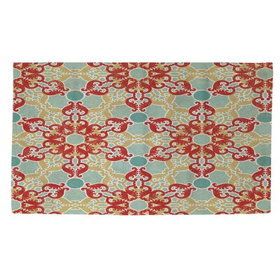 Tea House Patterns 11 Area Rug Rug Size: 2 x 3