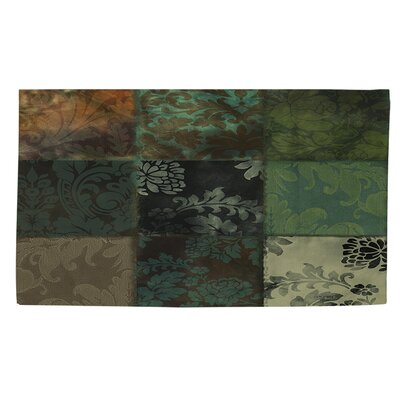 Velvet Patch 5 Area Rug Rug Size: 2 x 3
