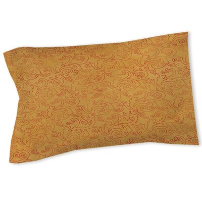 Zinnia Damask Sham Size: Queen/King
