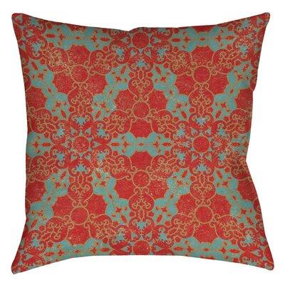 Tea House Patterns 13 Printed Throw Pillow Size: 16 H x 16 W x 4 D