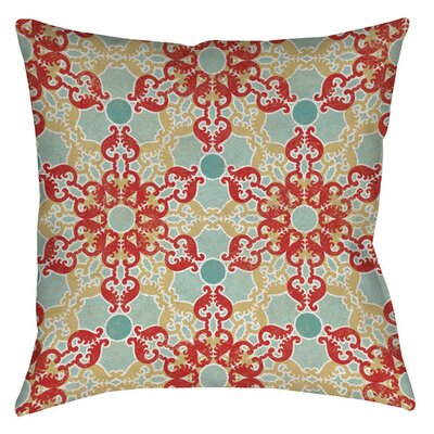 Tea House Patterns 11 Indoor/Outdoor Throw Pillow Size: 18 H x 18 W x 5 D
