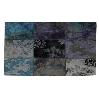 Velvet Patch 6 Area Rug Rug Size: 4 x 6