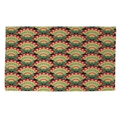 Tropical Breeze Patterns 35 Area Rug Rug Size: 2 x 3