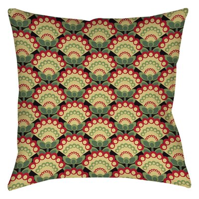 Tropical Breeze Patterns 35 Indoor/Outdoor Throw Pillow Size: 16 H x 16 W x 4 D