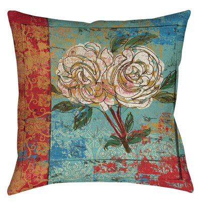 Valencia 1 Printed Throw Pillow Size: 16 H x 16 W x 4 D