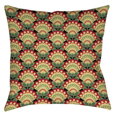 Tropical Breeze Patterns 35 Printed Throw Pillow Size: 16