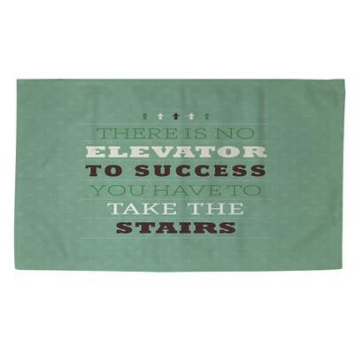Take the Stairs Area Rug Rug Size: 2 x 3
